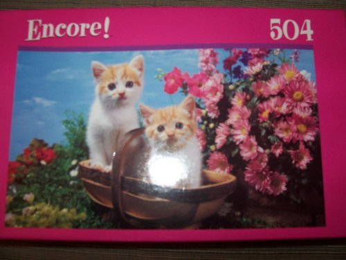 Encore 504 Piece Twin Kittens