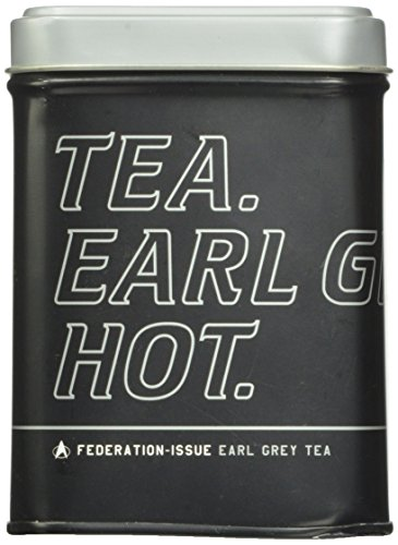 Star Trek Earl Grey Black Loose Bulk Tea in Officially Licensed Collectible Tin
