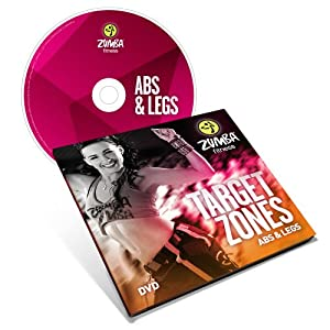Amazon.com : Zumba Fitness Target Zones Abs and Legs DVD : Exercise And Fitness Video Recordings ...