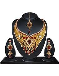 Niki Jewels Alloy Necklace Set For Women (Multicolour) (010 187 3223)