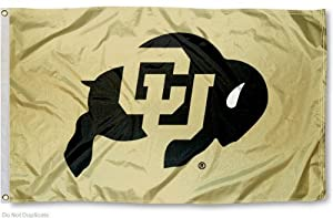 Buy CU Buffs Colorado Buffaloes University Large College Flag by College Flags and Banners Co.