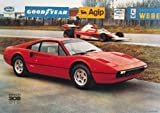1975 Ferrari 308 GTB Owners Print Picture Poster A1 Aprox