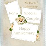 img - for For A Special Couple, On Your 65th Anniversary: Anniversary Gift Book; 65th Wedding Anniversary Gifts in Al; 65th Wedding Anniversary in al; 65th ... Card in al; 65th Anniversary Card in Of book / textbook / text book
