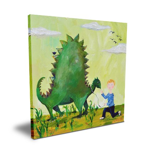 "Cici Art Factory 16""x 16"" Dino"