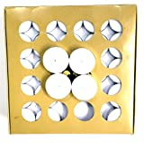 Light up with Celebration Tealights 12G, Unscented, Smoke less, 4 Hour Burn Time, Set of 100