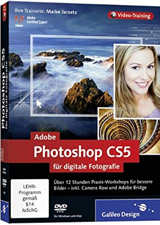 Adobe Photoshop CS5 für digitale Fotografie (PC+MAC)