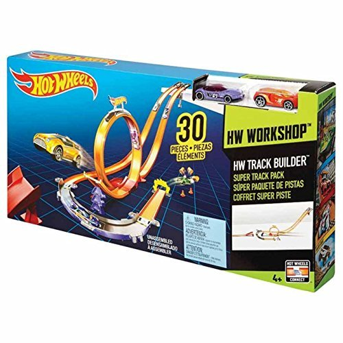 Hot Wheels Track Builder Super Track Pack (Hot Wheels Starter compare prices)