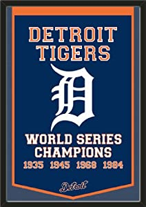 Dynasty Banner Of Detroit Tigers-Framed Awesome & Beautiful-Must For A... by Art and More, Davenport, IA