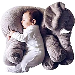 Rainbow Fox Animals pillow Grey Elephant Stuffed Plush Pillow Pals Cushion Plush Toy Cute Baby Pillow Cushion for Children's