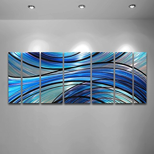 modern-abstract-large-metal-wall-art-panels-cascade-contemporary-blue-purple-large-sculpture-by-dv8-