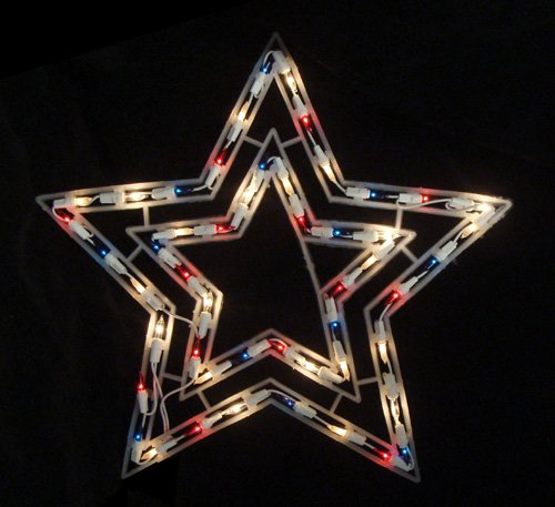 Outdoor Christmas Tree Toppers Stars