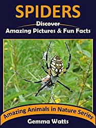 SPIDERS: Discover Amazing Pictures and Fun Facts (Amazing Animals in Nature Series Book 6)