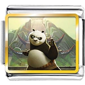 Pugster Kungfu Panda Photo Italian Charm