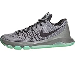 Nike Men\'s KD 8 Nght Slvr/Dp Pwtr/Tmbld Gry/Gr Basketball Shoe 11.5 Men US