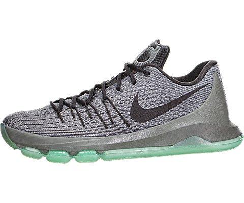 Nike Men's KD 8 Nght Slvr/Dp Pwtr/Tmbld Gry/Gr Basketball Shoe 8 Men US
