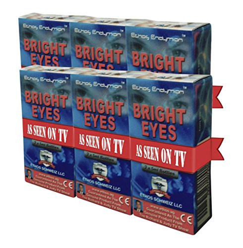 Carnosine Eye Drops 6-Pack (12 x 5ml Bottles) Ethos Bright Eyes™ NAC Eye Drops (Safe for Macular Degeneration Sufferers) - As Seen on UK National TV with Amazing Results! NAC n acetyl carnosine eye drops...