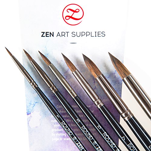 zenart-supplies-black-tulip-professional-artist-paint-brushes-6-piece-set-for-watercolor-gouache-acr