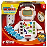 Toy / Game Playskool Alphie Engaging Electronic Robot Figure With 30 Double-Sided Cards - Sings And Plays Music