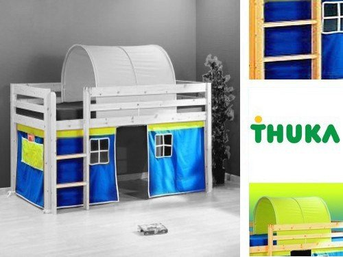 stockbetten am besten vorhang kids f r hochbett. Black Bedroom Furniture Sets. Home Design Ideas