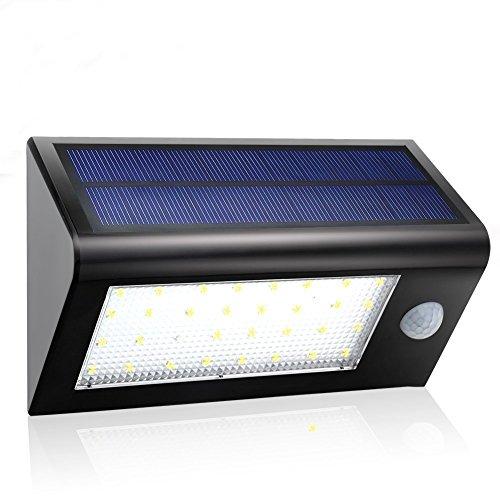 Gdealer-32-LED-Solar-Wandleuchten-Outdoor-Wasserdicht-mit-Bewegungsmelder-400-Lumen-Dim-Nachtlicht-3-Modi-fr-Garten-Innenhof-Sicherheit-Treppe-Landschaft-Security