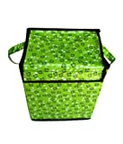 Home Candy Polyester Foldable Storage Cum Laundry Bag - Multicolor