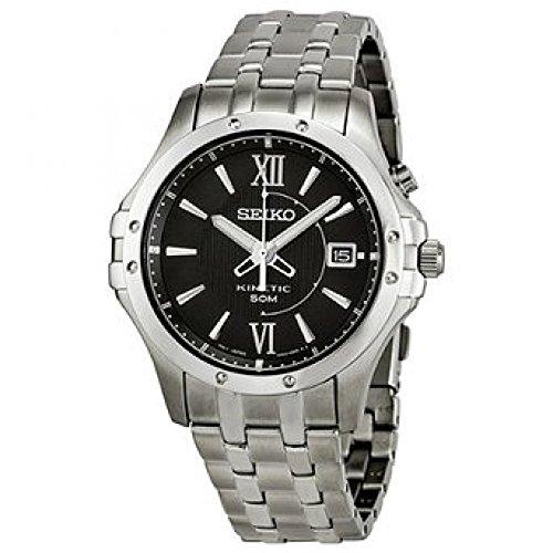 Seiko セイコー Le Grand Sport Men's Kinetic Watch SKA549 男性用 メンズ 腕時計 (並行輸入)