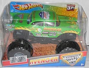 Monster Jam Green Avenger 1:24 scale