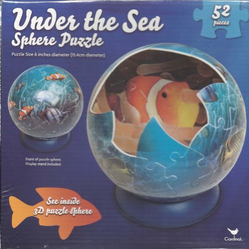 Under the Sea Sphere Puzzle 52 pieces