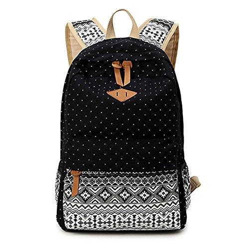 Abshoo-Cute-Lightweight-Canvas-Bookbags-School-Backpacks-for-Teen-Girls