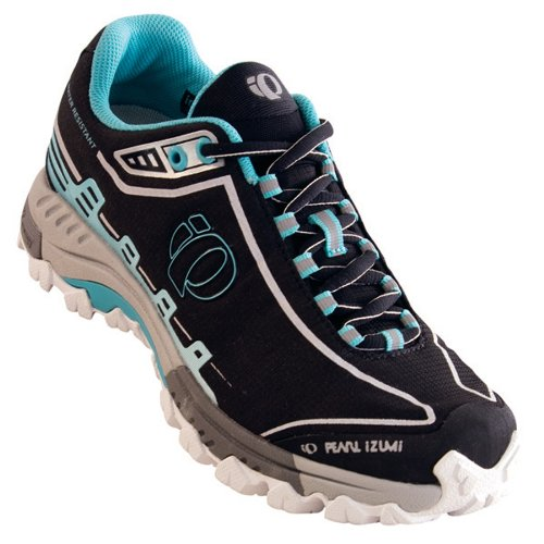 PEARL iZUMi Women X-Alp Seek IV WRX Womens cycle shoes, cycling shoes womens Ladies black Womens cycle shoes