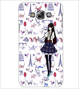 PrintDhaba Fantasy Girl D-1027 Back Case Cover for SAMSUNG GALAXY A7 (Multi-Coloured)