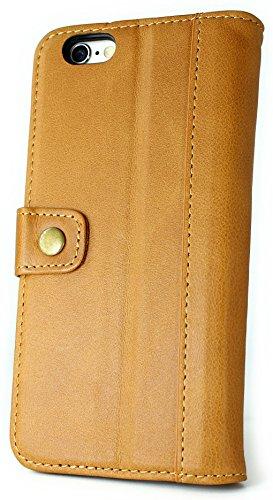 b9e90d59bd 【 CIBOLA 】 ボタン式 高級牛革 iPhone6s Plus ケース / iPhone6 Plus ケース 手帳型