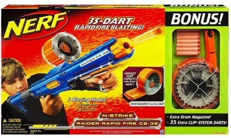 Nerf Shotgun Raider CS-35 Rapid Fire Gun