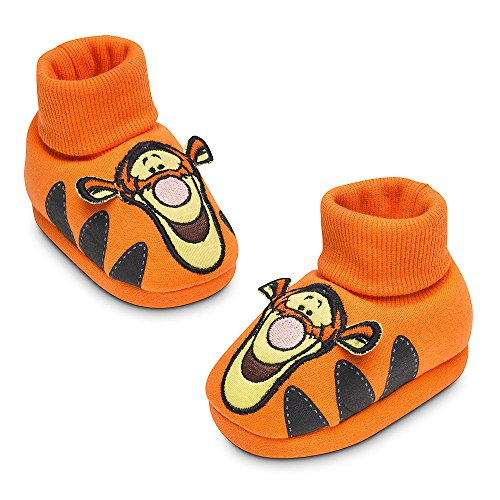 Disney Store Winnie the Pooh Tigger Plush Sock Slippers Baby 12-18m