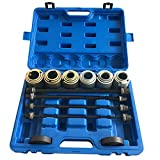 27pcs Universal Press and Pull Sleeve Kit Bearing Seal Bush Removal Insertion Sleeve Tool Set w/Case