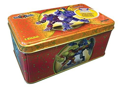Invizimals - Caja metálica Tin box Gold, multicolor (Panini 002989TINEGA)