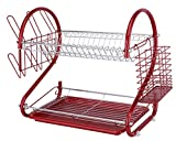 Europe Ware K10766 Dish Rack, Red