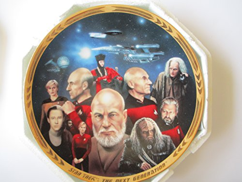 Star Trek Next Generation Episodes All Good Things Plate