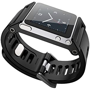 TikTok Multi-Touch Watch Band - iPod nano 6g- Black