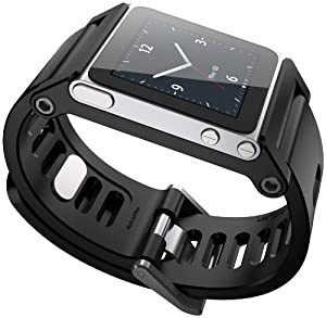 TikTok Multi-Touch Watch Band - iPod nano 6g - Black