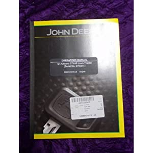 John Deere STX 38 Repair Guide - STX38 Service Manual