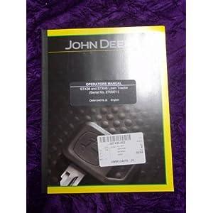 John Deere STX 38 Repair Guide - STX38 Service Manual