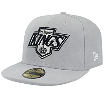 New Era 59FIFTY Casquette - LOS ANGELES KINGS gris - 7 1/2