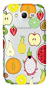 WOW Transparent Printed Back Cover Case For Samsung Galaxy Grand Duos i9082