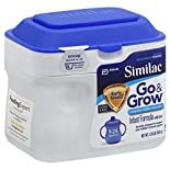 Similac Go & Grow Infant Formula, Milk-Based Powder, with Iron, 9-24 Months, 1.38 lb (624 g)