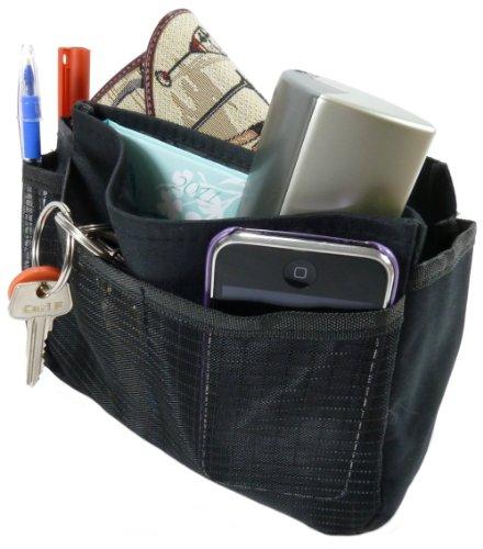 GB Classic Handbag Organiser/Tidy, liner insert - black