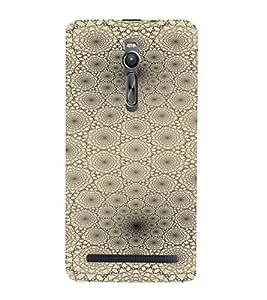 PrintVisa Modern Art Web Pattern 3D Hard Polycarbonate Designer Back Case Cover for Asus Zenfone 2
