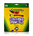 Crayola Colored Pencils 50/Pkg Long 6...