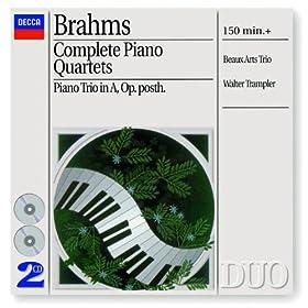 Brahms: Complete Piano Quartets (2 CDs)