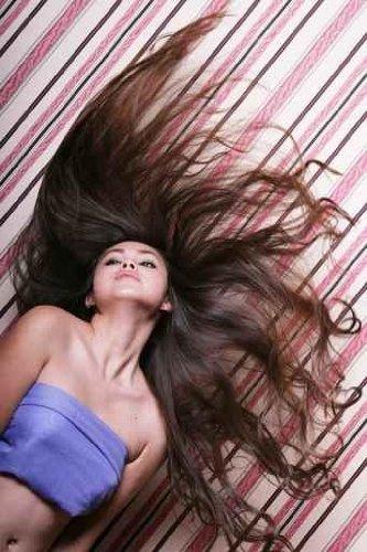 "Beautiful Asian Woman - 60""H x 40""W - Peel and Stick Wall Decal by Wallmonkeys"